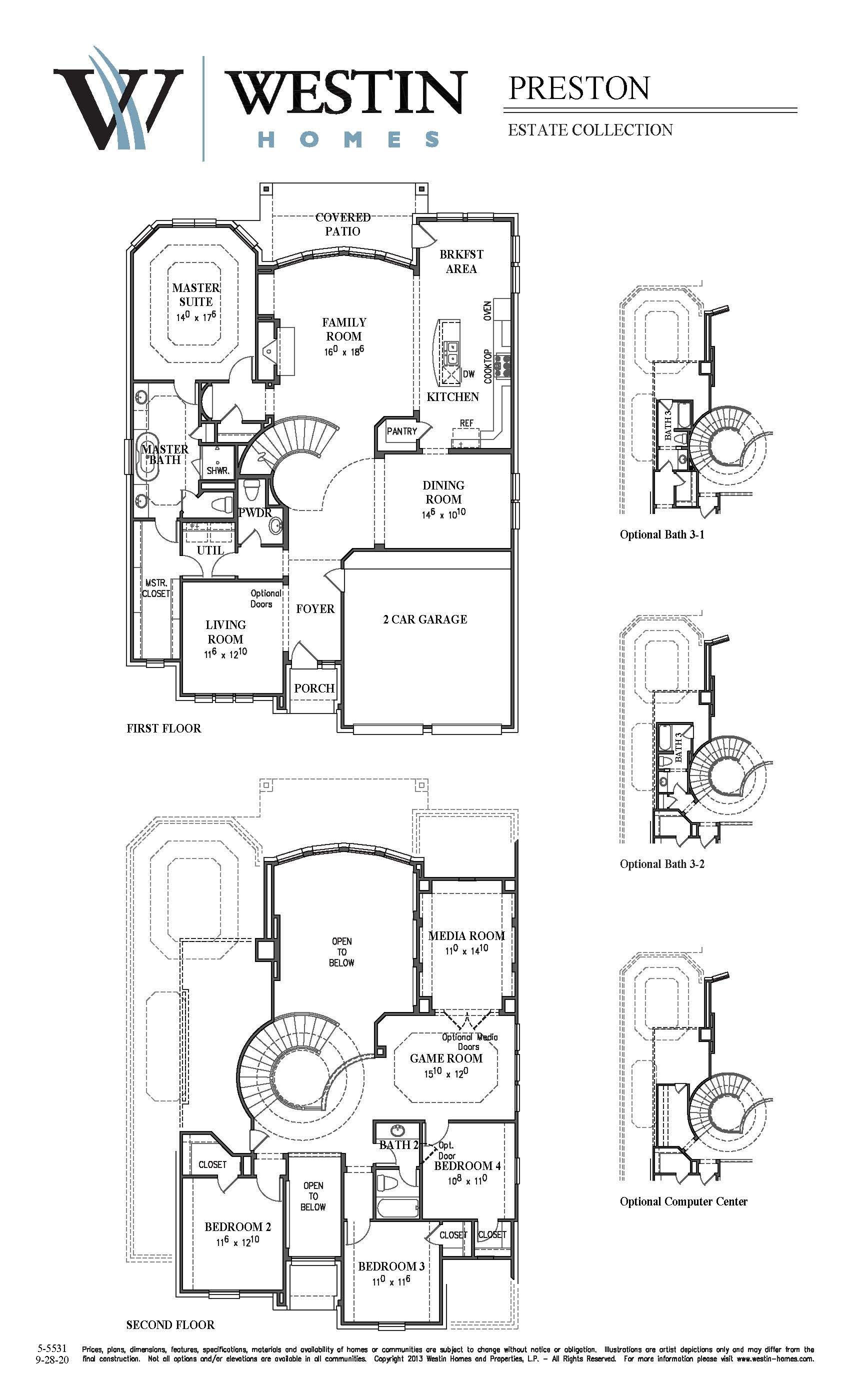 Superior Westin Homes Floor Plans Part - 7: FloorPlan