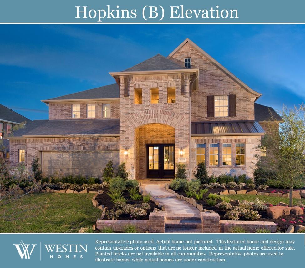 Westin homes sedona floor plan for Westin homes design center houston