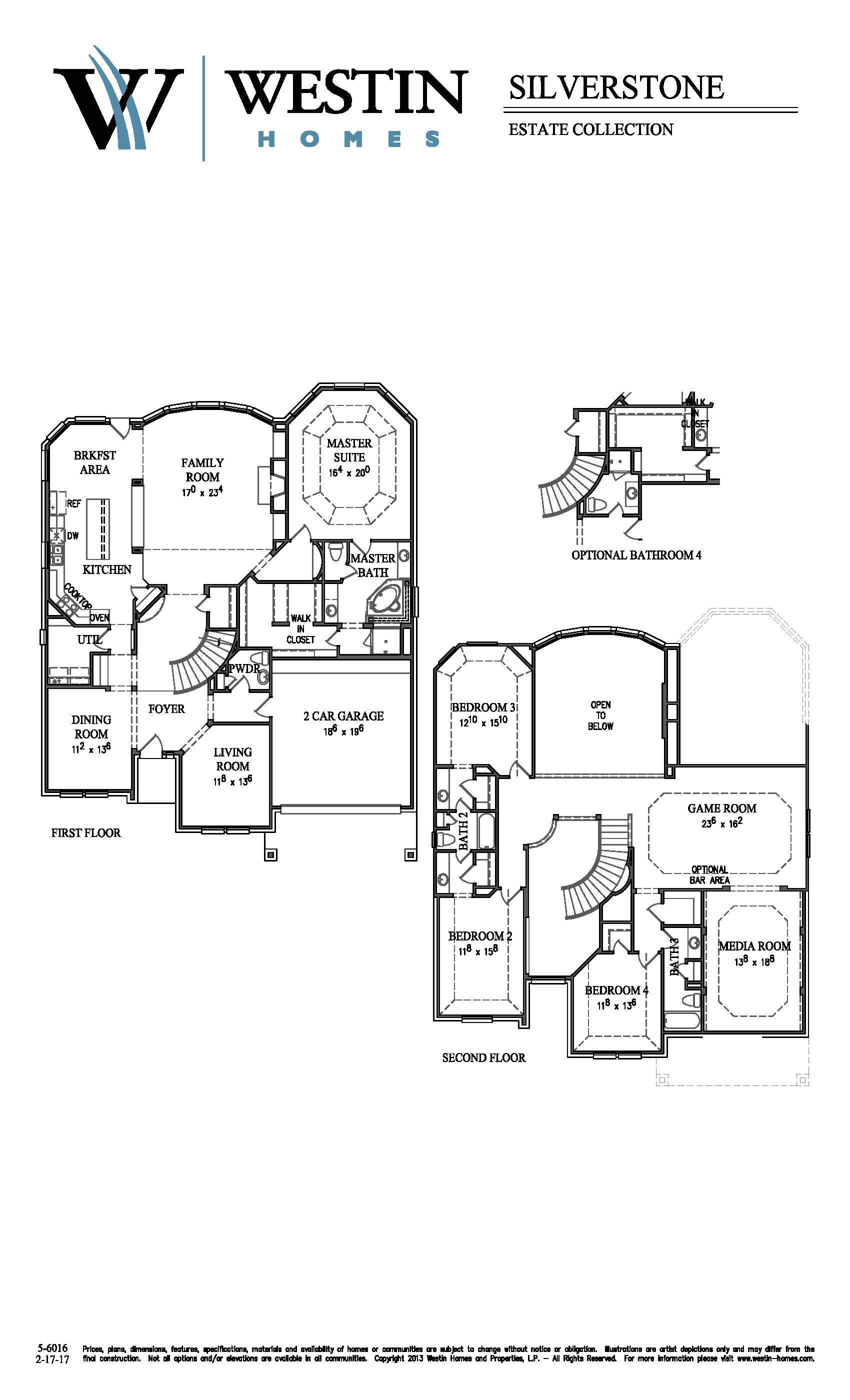 Delightful Westin Homes Floor Plans Part - 11: FloorPlan