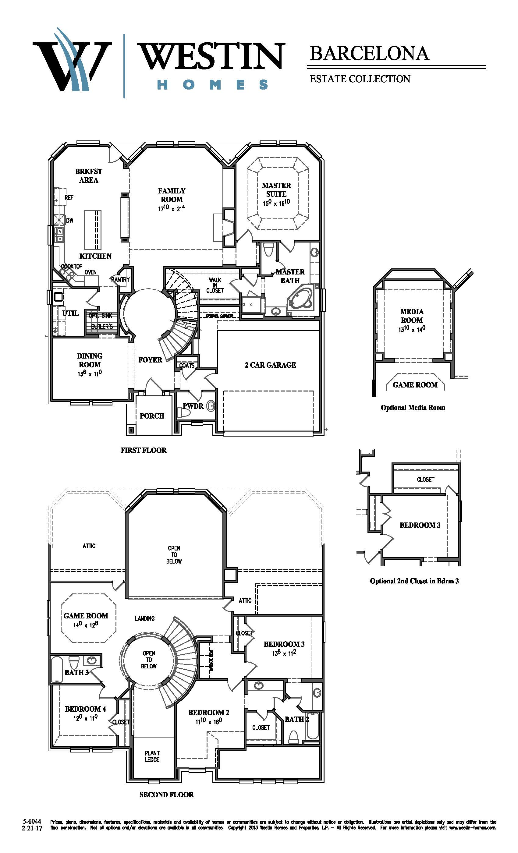 Lovely Westin Homes Floor Plans Part - 3: FloorPlan