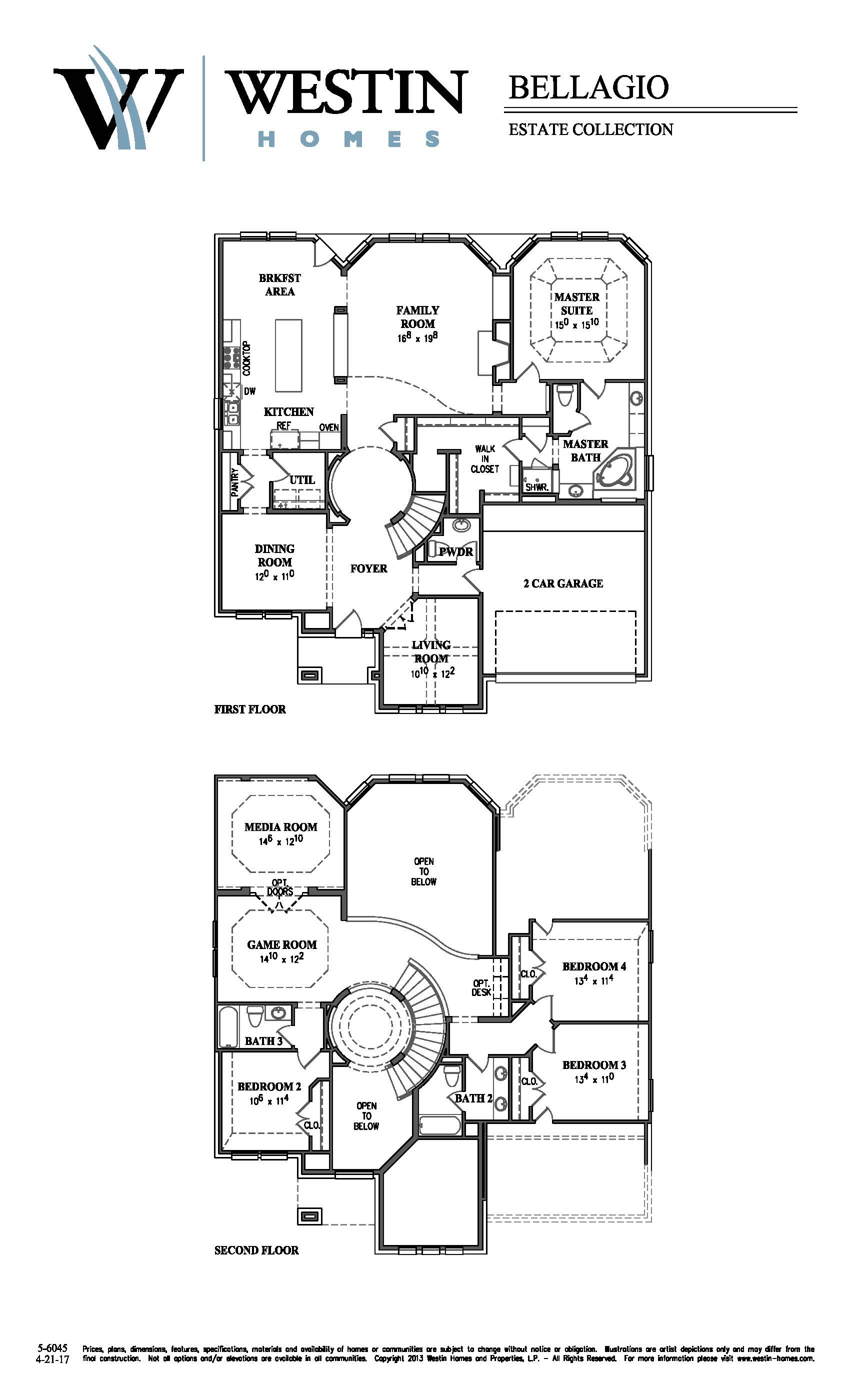 Superb Westin Homes Floor Plans Part - 8: FloorPlan