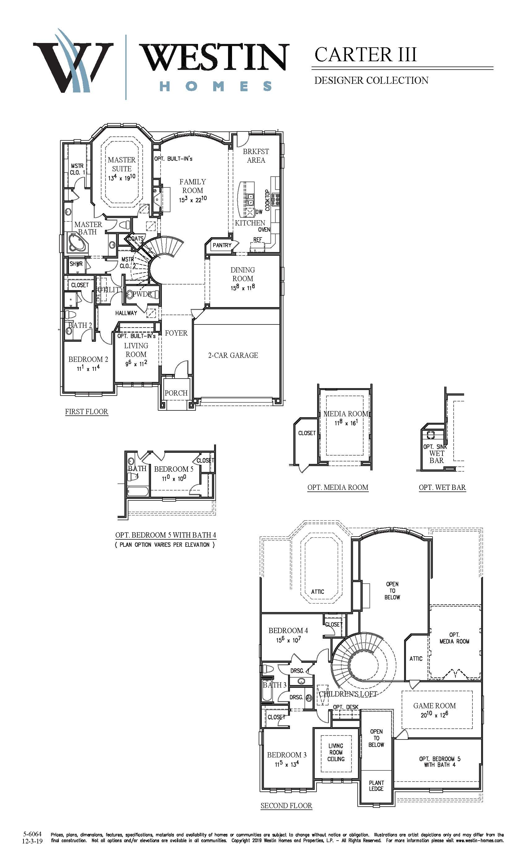 Westin Homes Floor Plans Part - 19: FloorPlan